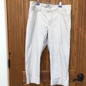 🌞Lee natural fit cropped pants 12🌞